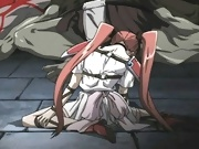 Anime Babe gets stripped and penetrated in slit by Goku