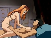 Busty hentai girls in sex orgy